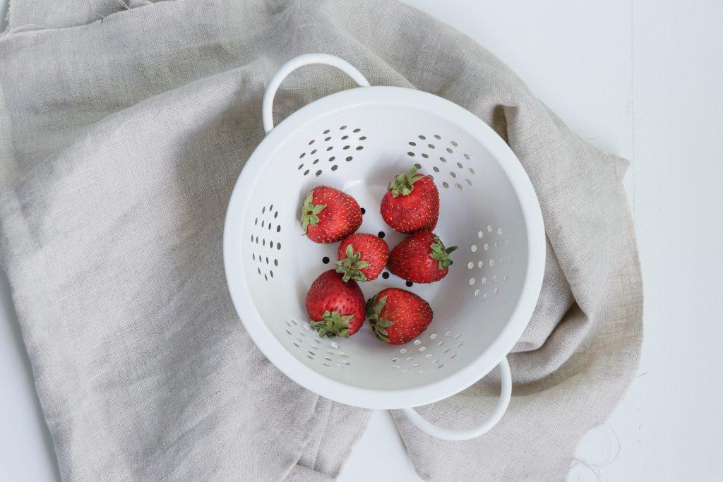 pint of California strawberries